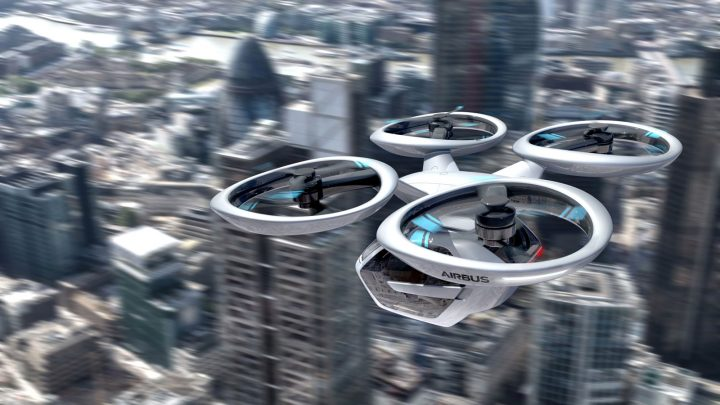 Italdesign Pop.Up Next VTOL Airbus air vehicle