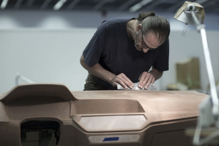 New BMW 3 Series Sedan Design Process Clay Modeling