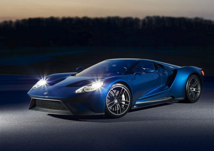 Production of the Ford GT began in December