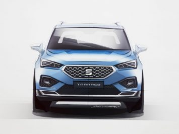 Seat Tarraco: design images and video