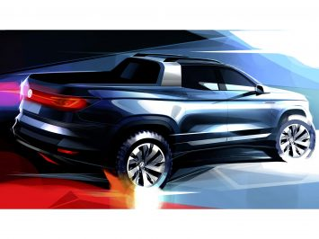 Volkswagen teases near-production pickup concept