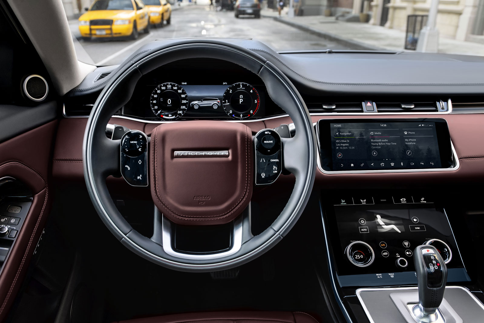 New Range Rover Evoque Interior Design