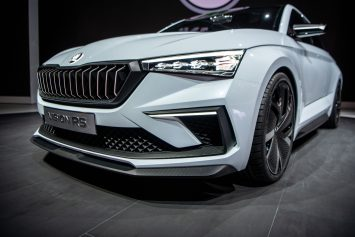 Skoda Vision RS Concept at 2018 Paris Motor Show
