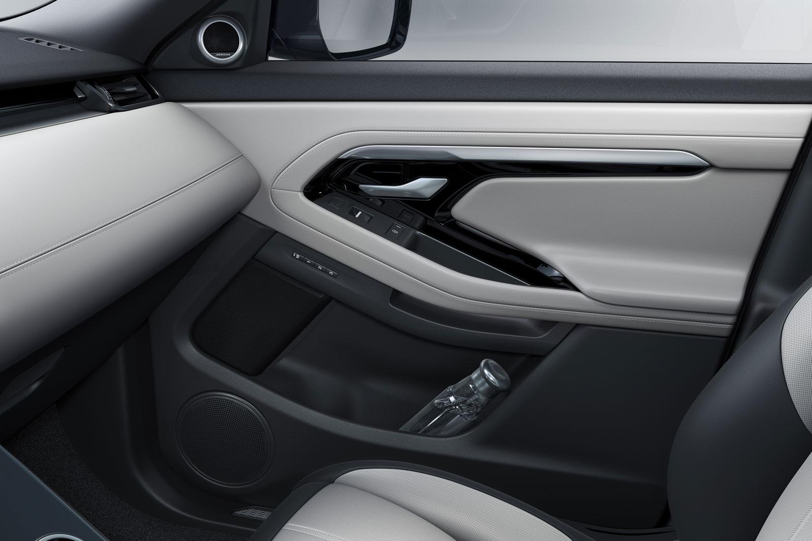 New Range Rover Evoque Interior Design Door Panel Detail