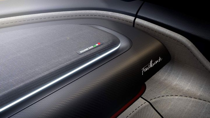 Fiat Fastback Concept Interior Textures and Details