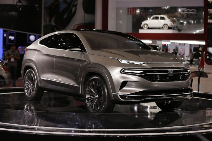 Fiat Fastback Concept at 2018 Sao Paulo Motor Show