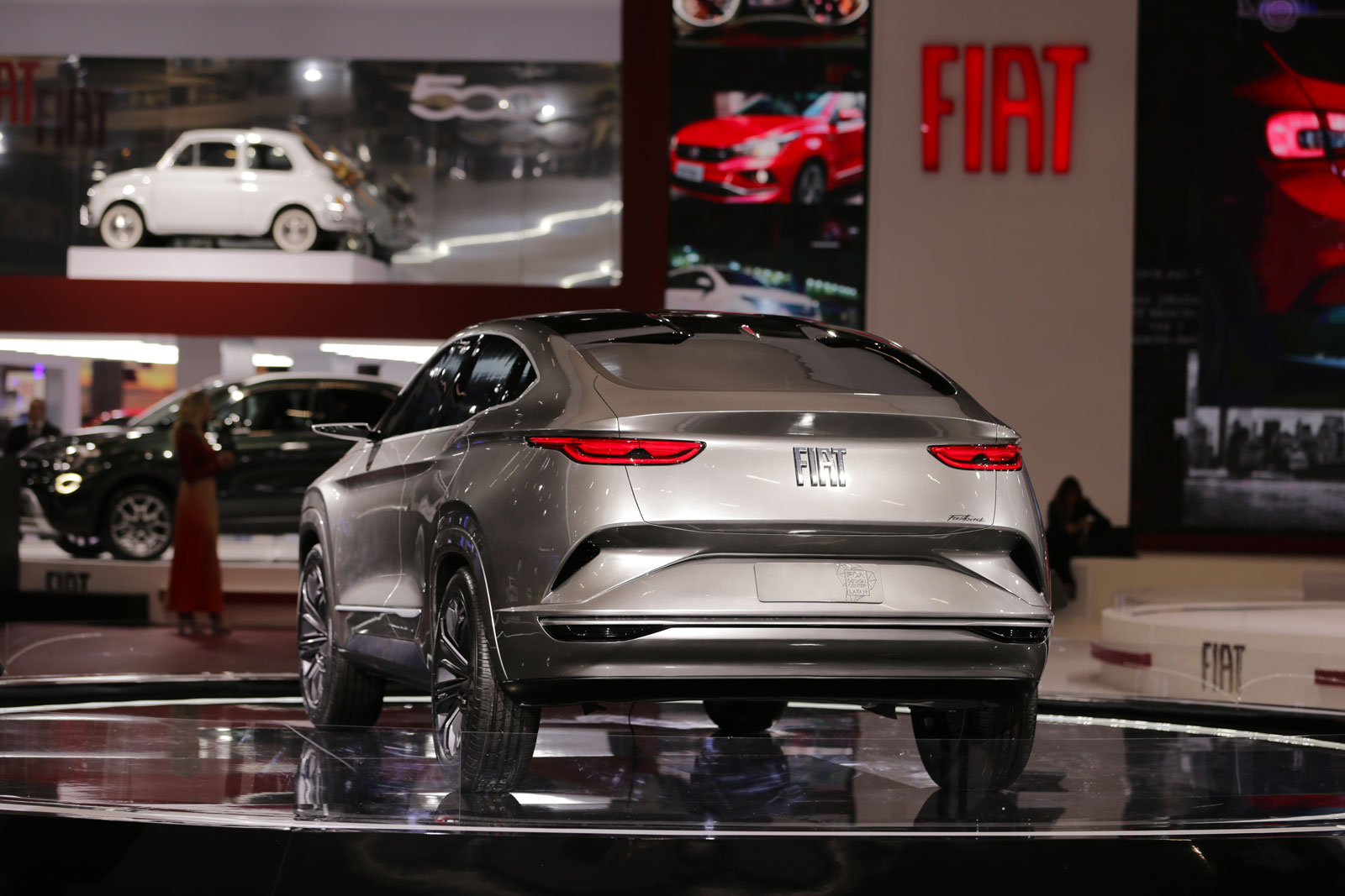 Fiat Fastback Concept At 2018 Sao Paulo Motor Show Car Body Design