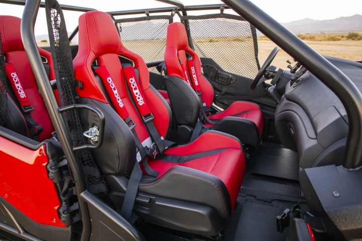 Honda Rugged Open Air Vehicle Concept Interior