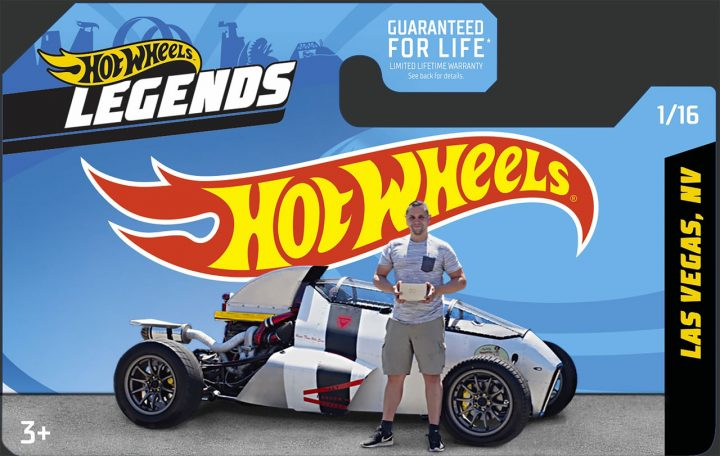 Hot Wheels 2JetZ Hot Rod Concept