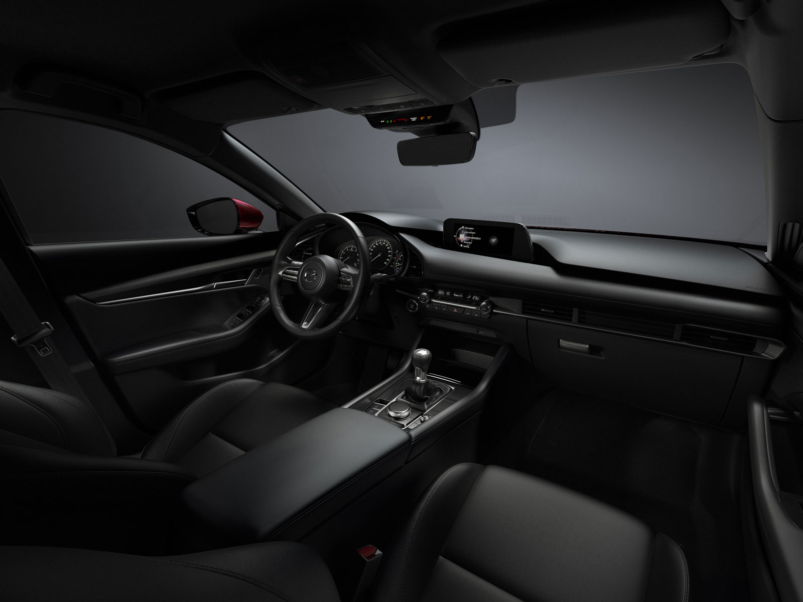 New Mazda3 Interior Design