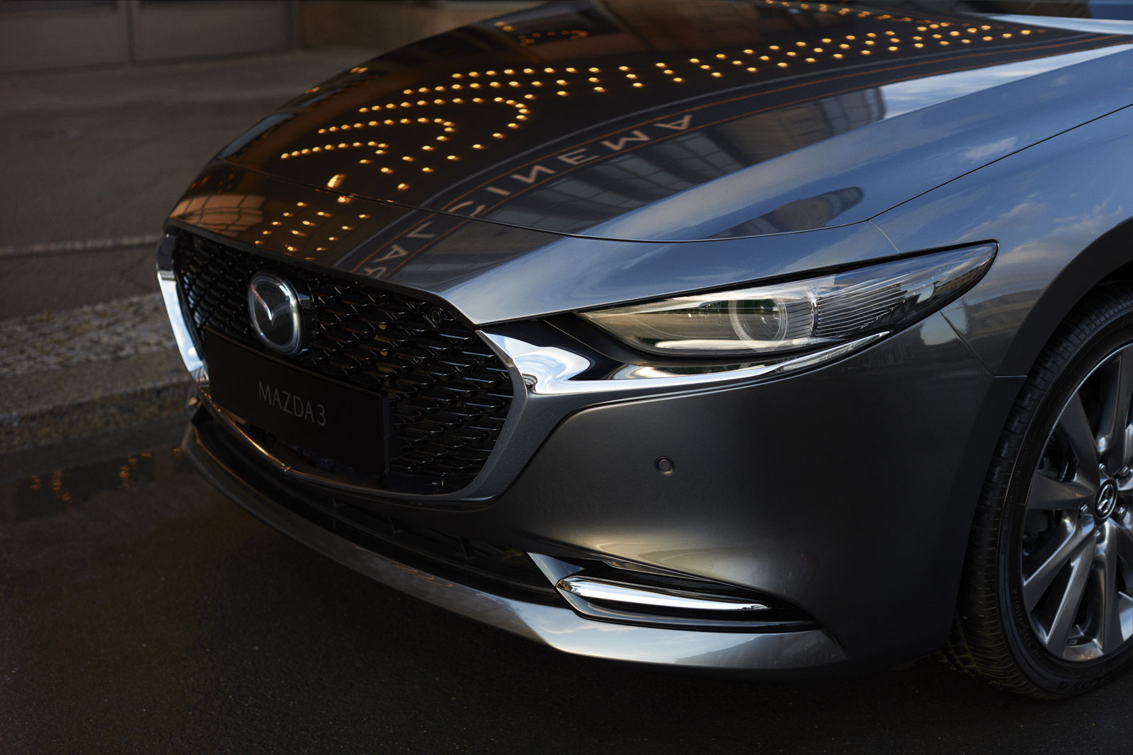 New Mazda3 Sedan Front End Design