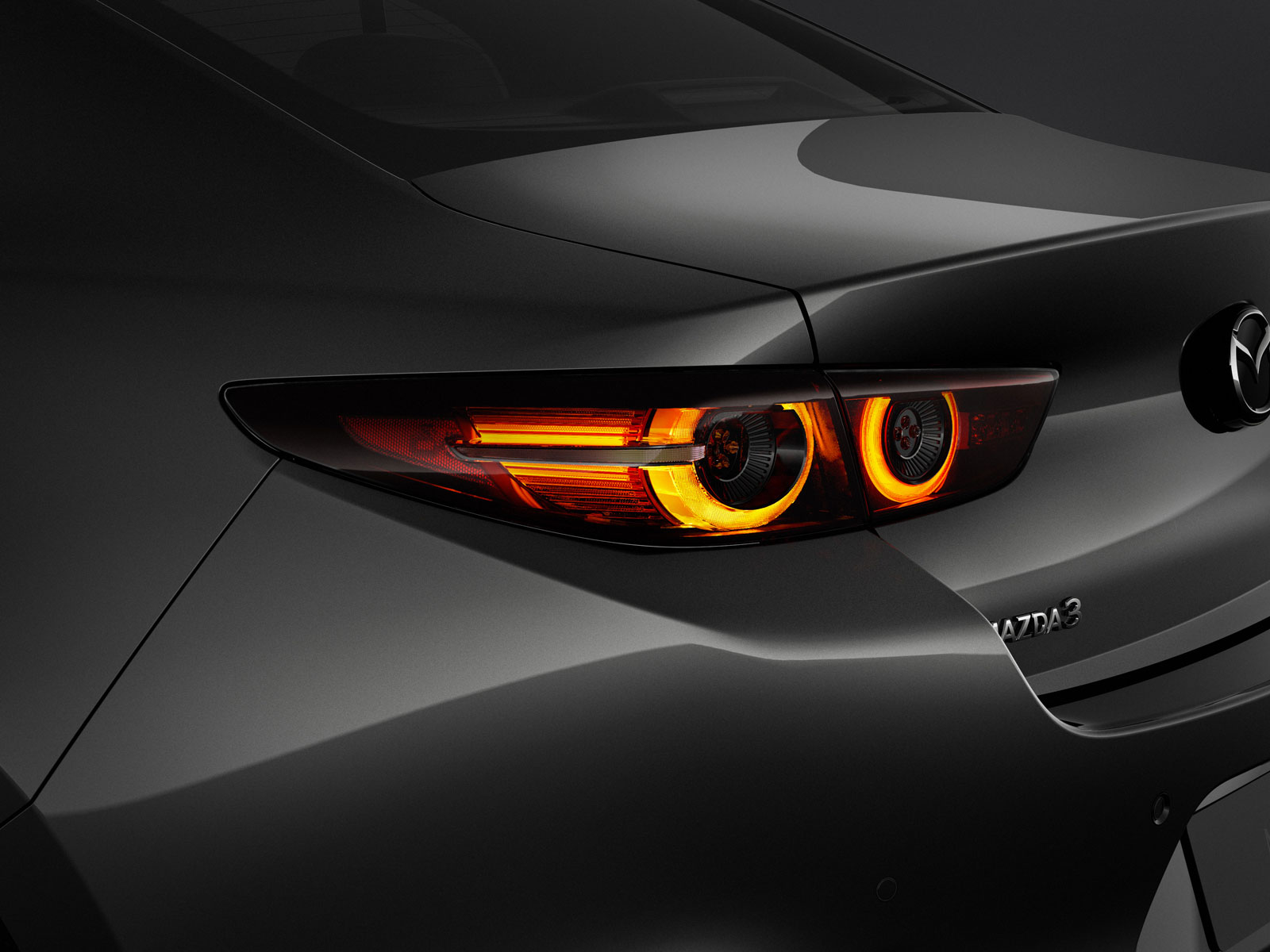 New Mazda3 Sedan Tail Light Design