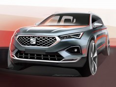Seat Tarraco: Design Sketch Renders