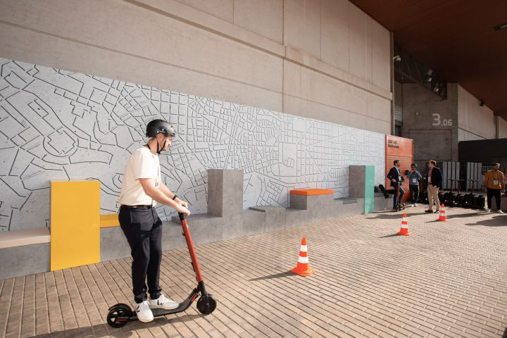 Seat eXS KickScooter at Smart City Expo World Congress 2018