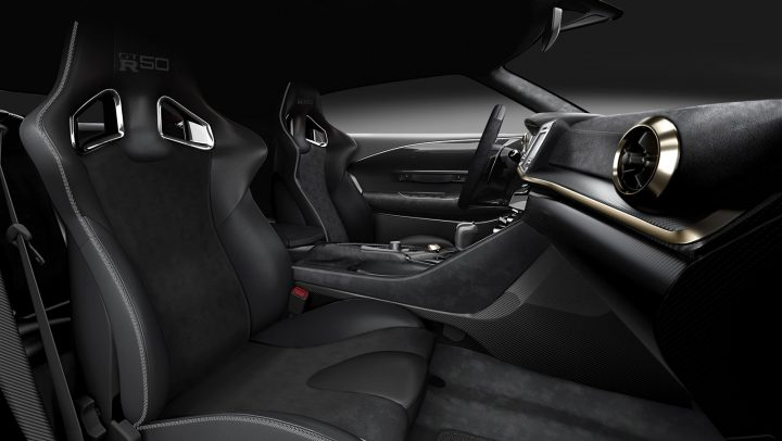 2018 12 06 Nissan GT R50 Production Version Interior Design
