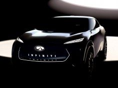 Infiniti teases its first fully electric crossover