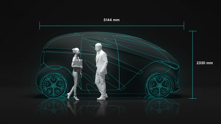 Mercedes-Benz Vision Urbanetic Concept Dimensions