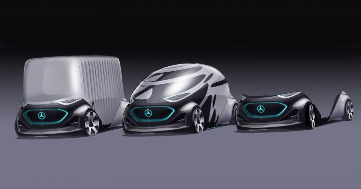 Mercedes-Benz Vision Urbanetic Concept Layouts