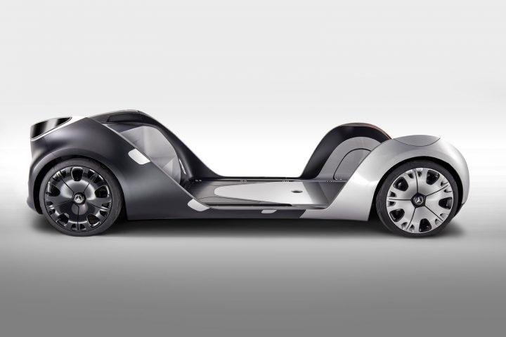 Mercedes-Benz Vision Urbanetic Concept Skateboard Chassis