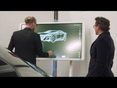 Robert Downey Jr. meets Audi Head of Design Marc Lichte