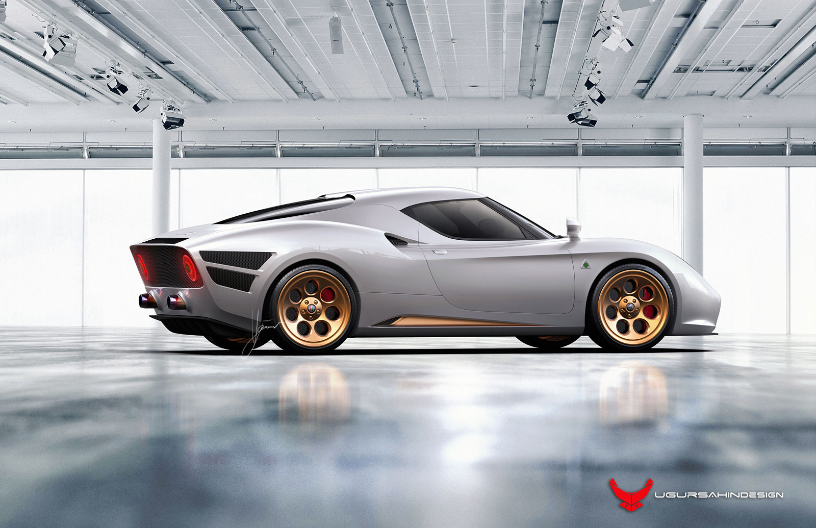 Alfa Romeo Nivola Concept 2019 By Ugur Sahin Design Car Body Design