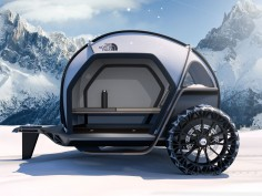 BMW Designworks reveals camper concept made of fabric