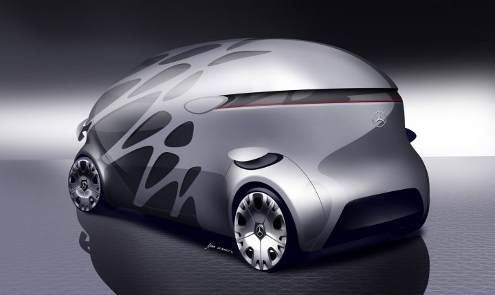 Mercedes Benz Vision Urbanetic Concept Design Gallery Car Body Design