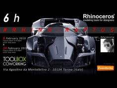 Luigi Memola launches new Rhino 3D Workshop