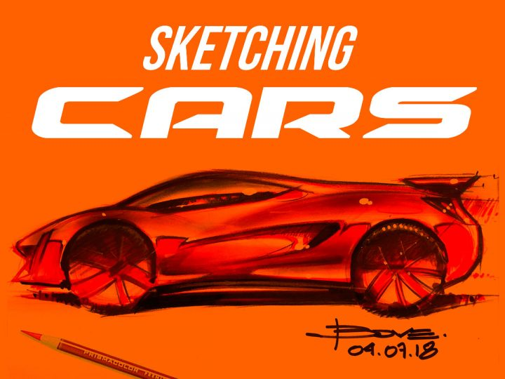 """Sketching Cars"": a new ebook by Luciano Bove"