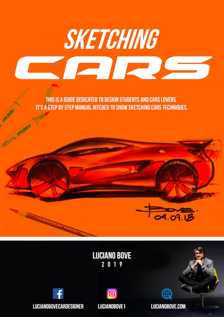 Sketching Cars ebook by Luciano Bove