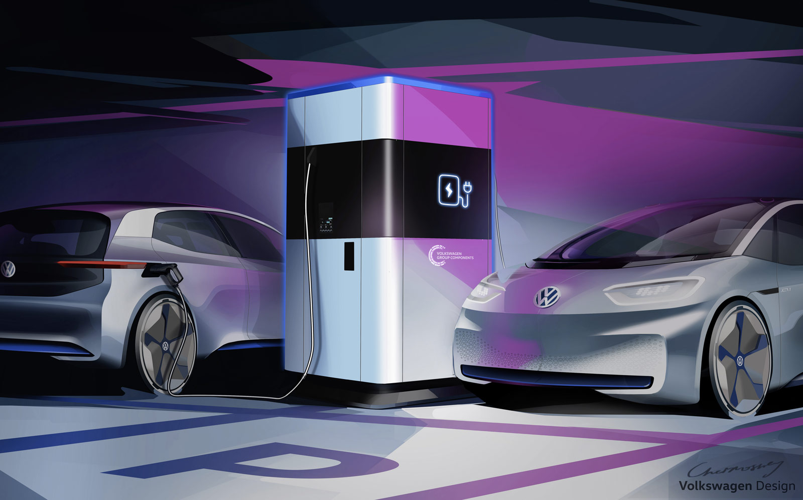 Volkswagen Mobile Quick Charging Station