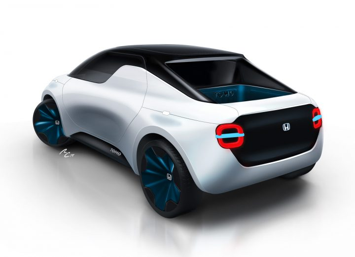 Honda Tomo Concept by IED Design Rendering