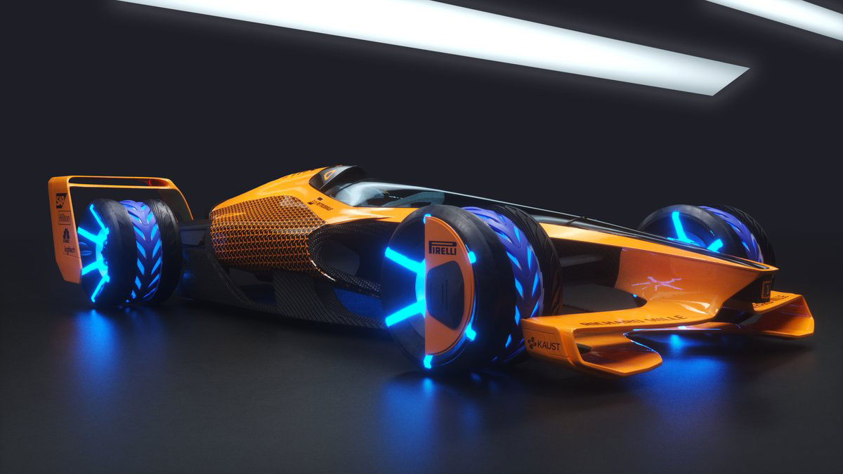 Mclaren Mclextreme 2050 Concept Car Body Design