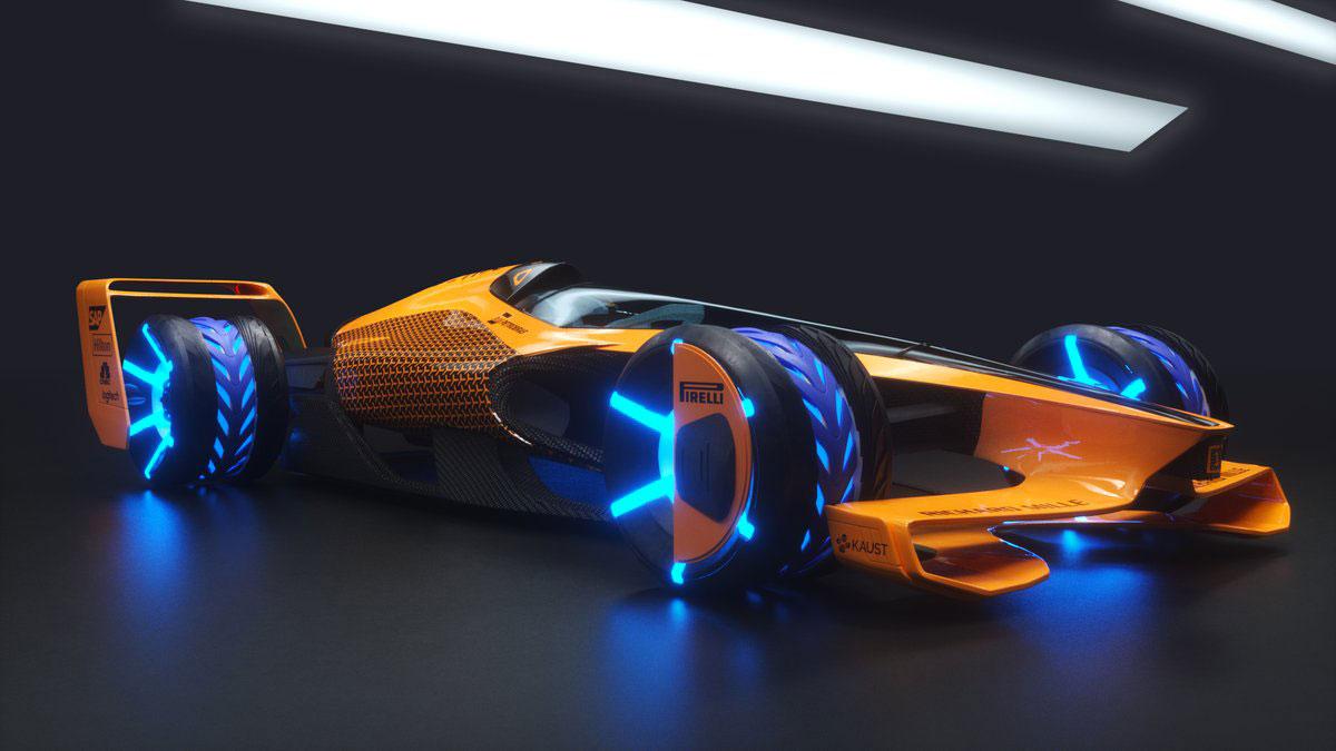 McLaren MCLExtreme 2050 Concept - Car Body Design