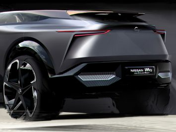 Nissan teases IMQ Concept with design sketch