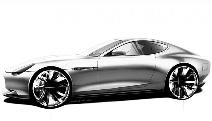 Piech Mark Zero GT Design Sketch
