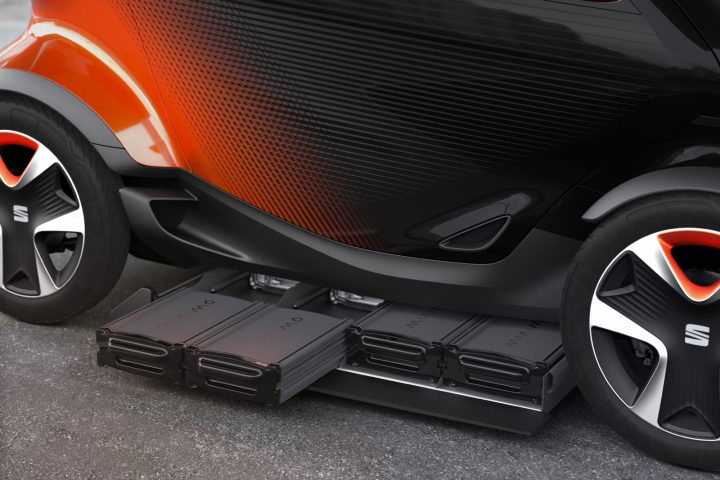 Seat Minimo Concept Design Battery Detail