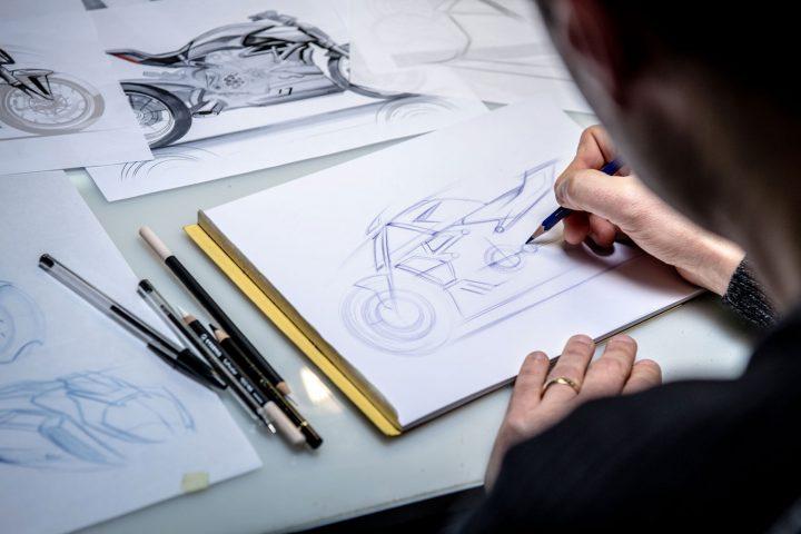 Ducati Diavel 1260 Design Sketching