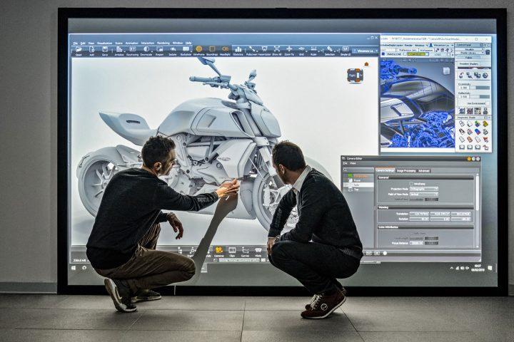 Ducati Diavel 1260 VR Design Review in VRED