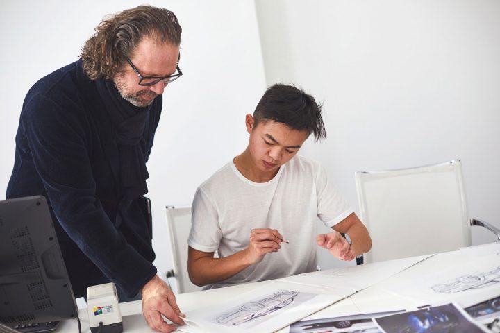 2019 Skoda Student Concept Car Design Sketching