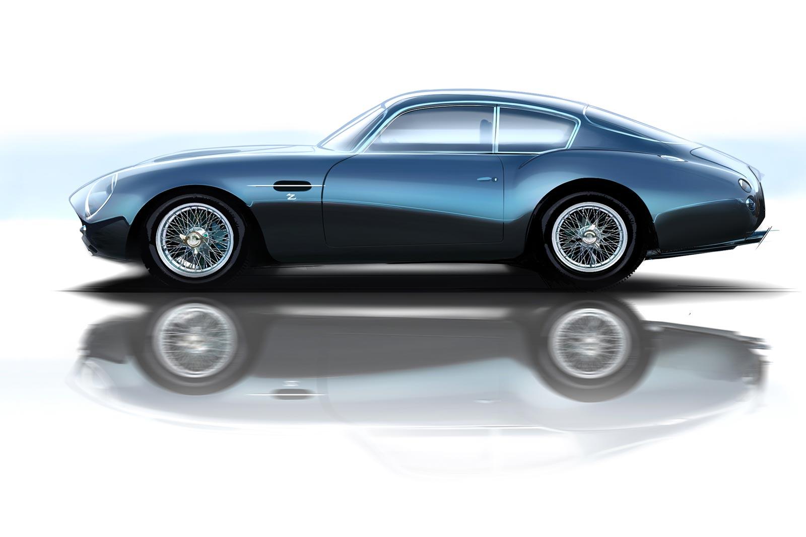 Aston Martin Db4 Gt Zagato Design Sketch Render Car Body Design