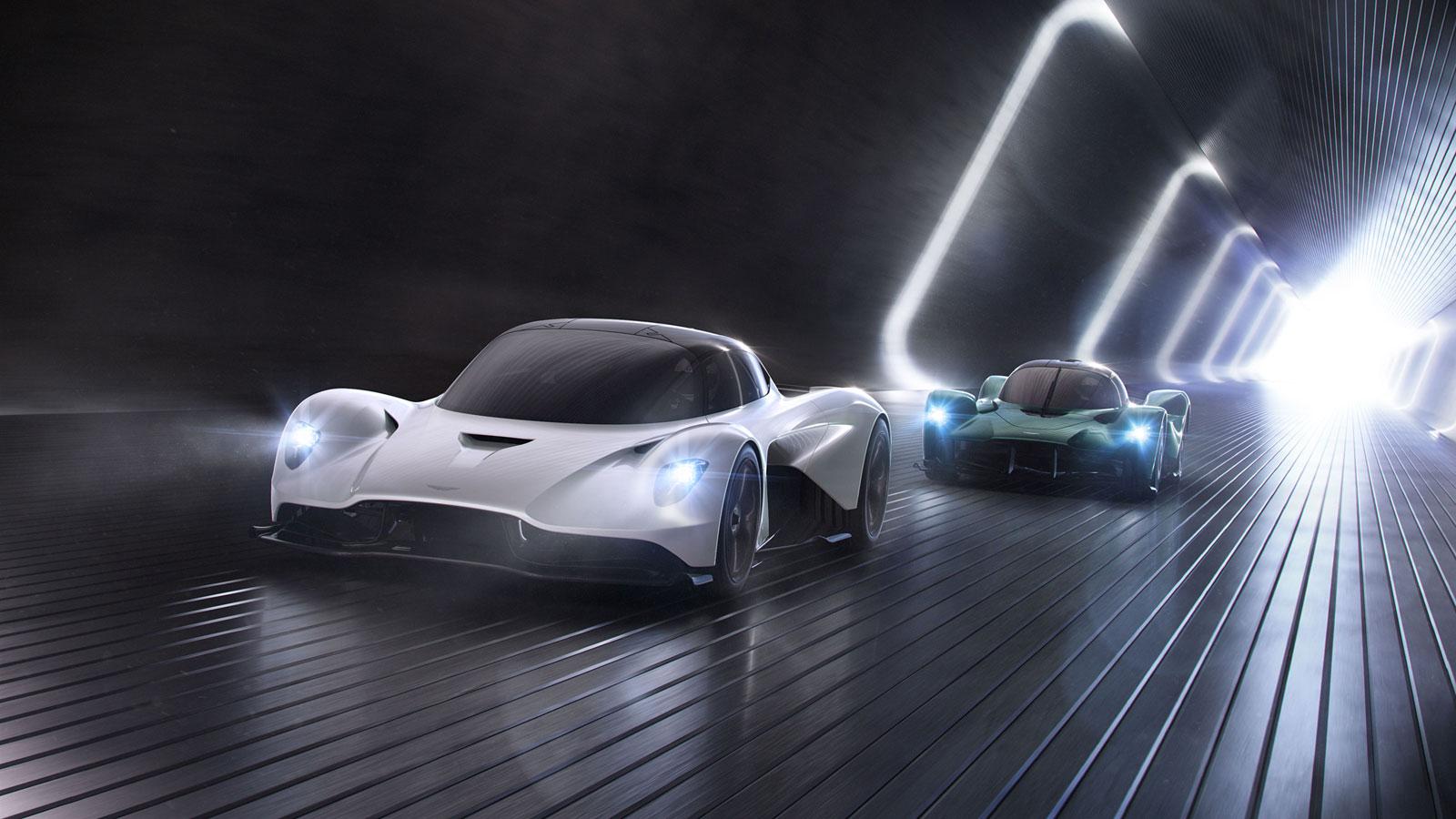 Aston Martin Vanquish Vision Concept Car Body Design