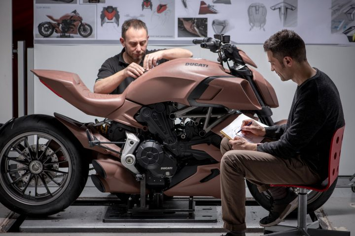 Ducati Diavel 1260 Clay Modeling