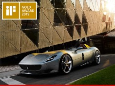 Ferrari Monza SP1 wins Gold Award at the iF Design Awards 2019