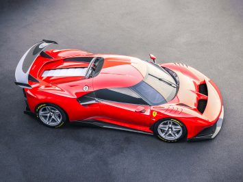 Ferrari P80/C is an extreme one-off design inspired by sports prototype legends