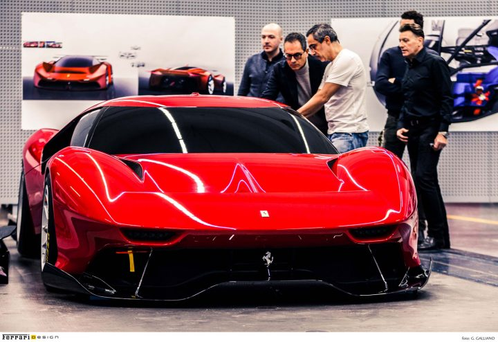 Ferrari P80 C Design Process