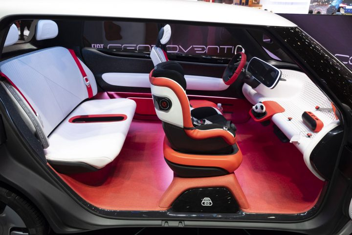 Fiat Centoventi Concept at the 2019 Geneva Motor Show Interior