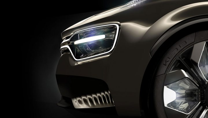 Imagine by Kia Concept Exterior Design Detail Headlight