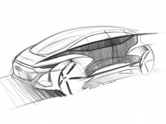 Audi AI:me Concept: preview design sketches