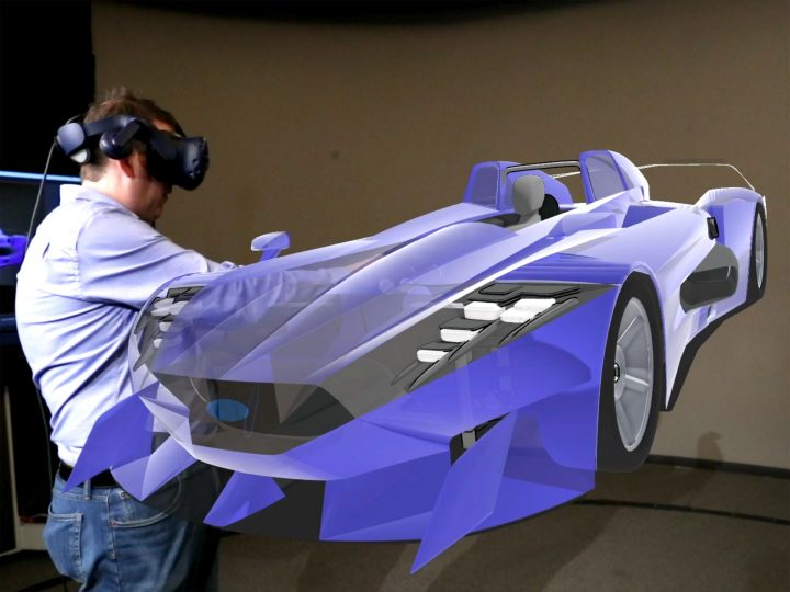 Ford testing 3D virtual reality sketching tool